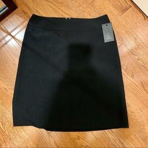 RW & Co a line black skirt NWT